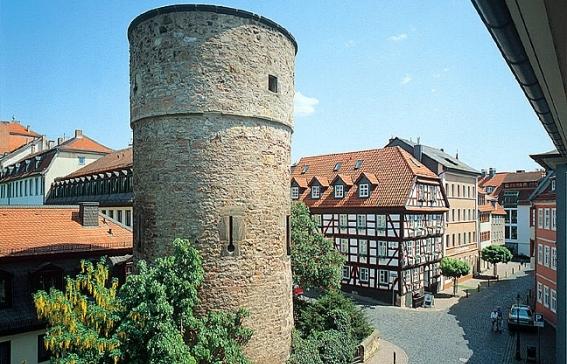 Fachwerk-Stadt am Fulda-Radweg